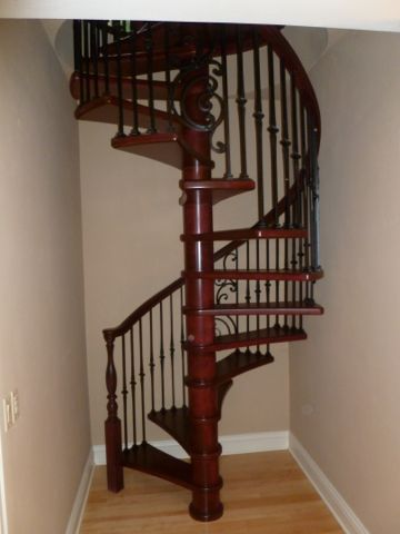 Browse Our Spiral Stairs